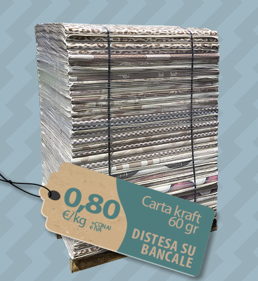 Bancale carta kraft 60 gr